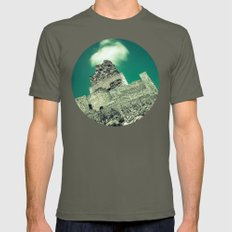Crowned castle Mens Fitted Tee Lieutenant SMALL