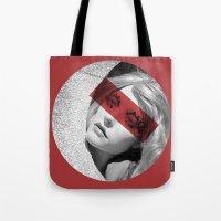 Red band Tote Bag