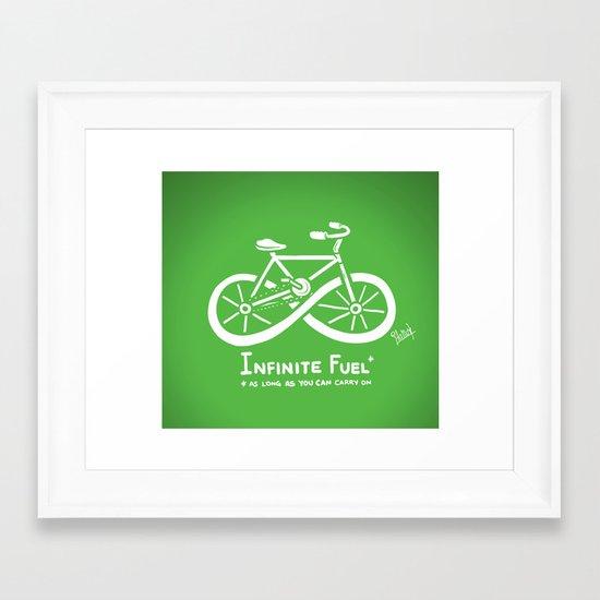 Infinite Fuel  Framed Art Print