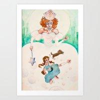 Legend Of Oz Art Print