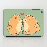 Pomeranian Kisses iPad Case