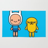 #48 Jake and Finn Rug