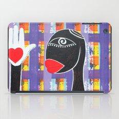 MAMMA AFRICA-CUORE IN MANO iPad Case