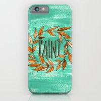 iPhone Cases featuring Paint  by Perrin Le Feuvre