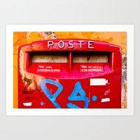 Rome: Poste Art Print