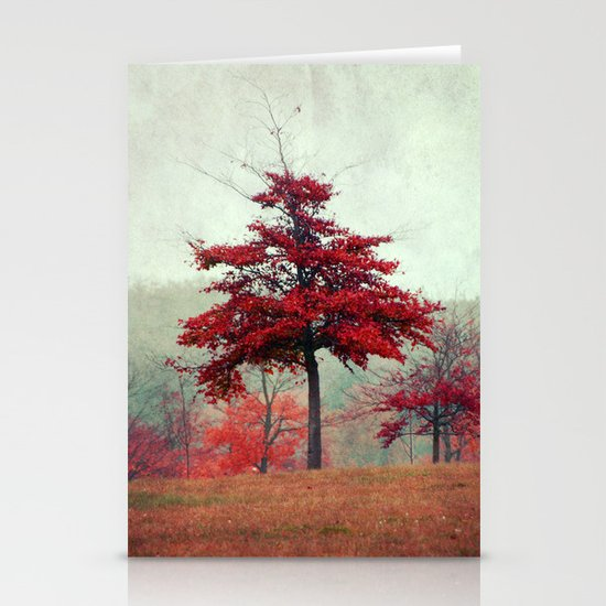 rosso Stationery Card