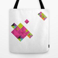 Optical illusion_grey Tote Bag