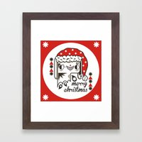 Wixly Framed Art Print
