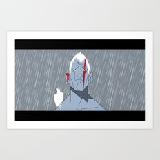 Manga Roy Art Print