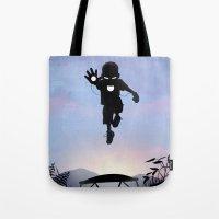 Iron Kid Tote Bag