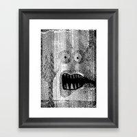 Copy Monster Framed Art Print