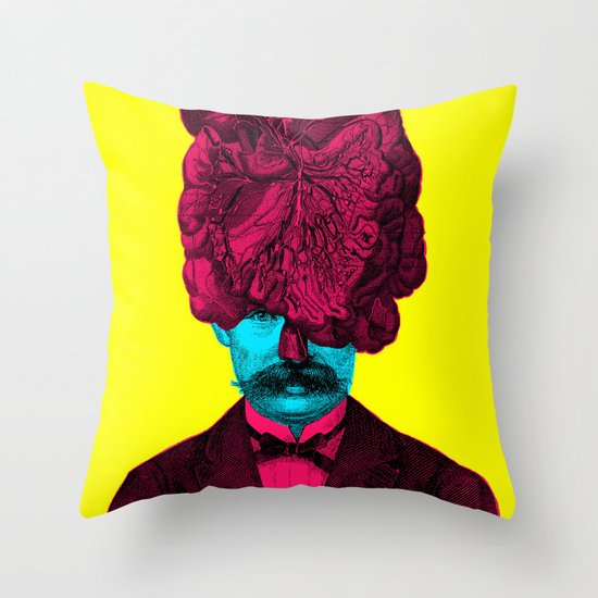 Mastermind II Throw Pillow