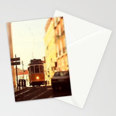 Lisbon tram Stationery Cards