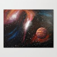 Space Two Canvas Print