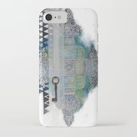 cross iPhone & iPod Cases featuring Cross by oxana zaika