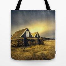 Old Huts Tote Bag