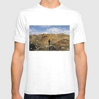 ICELAND IV Mens Fitted Tee White SMALL