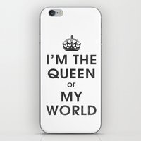 I'm The Queen Of My Worl… iPhone & iPod Skin