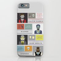 Django Unchained Charact… iPhone 6 Slim Case
