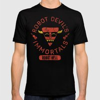 Bad Boy Club: Robot Devi… Mens Fitted Tee Black SMALL