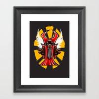 Winged Primate  Framed Art Print