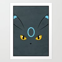 #197 Shiny Umbreon. Poke… Art Print
