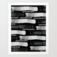 Brush Strokes #1 Art Print