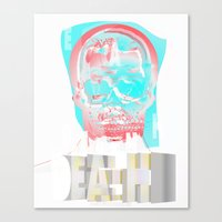 DEATH BECOMES U Canvas Print