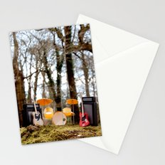 If a band plays in the forest ...... Stationery Cards