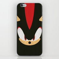 Shadow the Hedgehog iPhone & iPod Skin