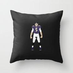 NeverMore - Joe Flacco Throw Pillow