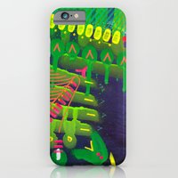 Wave green iPhone 6 Slim Case