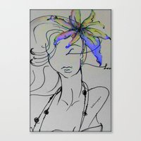 Fashion Latina Canvas Print