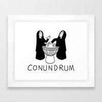 Conundrum Framed Art Print