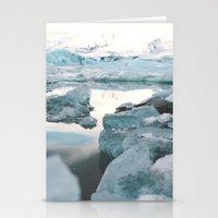 Iceland Glacier Lagoon Stationery Cards