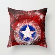 Avengers - Captain Ameri… Throw Pillow
