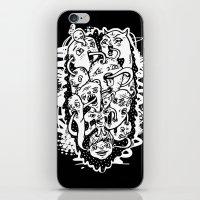 Monster Friends iPhone & iPod Skin