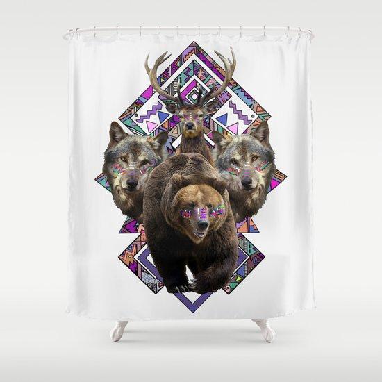 ▲NANUK▲ Shower Curtain