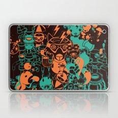 Dream Factory Orange and Blue Laptop & iPad Skin