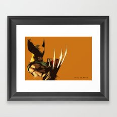 The Wolverine Framed Art Print