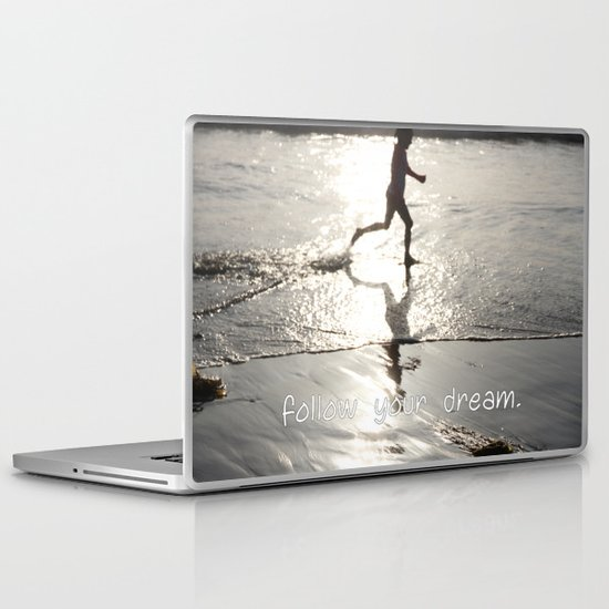 follow your dream Laptop & iPad Skin