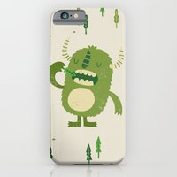 iPhone & iPod Case featuring the tree muncher by Monster Riot