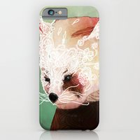 iPhone & iPod Case featuring Red Panda by Ben Geiger