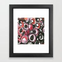 Lobster texture  Framed Art Print