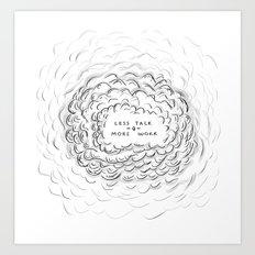 IRONIC Art Print