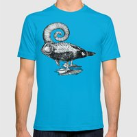 Carpé Duckems Mens Fitted Tee Teal SMALL