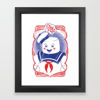 STAY PUFFT Framed Art Print