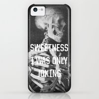 iPhone 5c Cases featuring Sweetness by Anna Dorfman