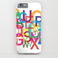 AMAZING ALPHABET iPhone 6 Slim Case