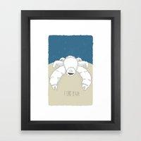 I Like It Hot Framed Art Print